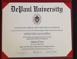 DePaul University fake degree