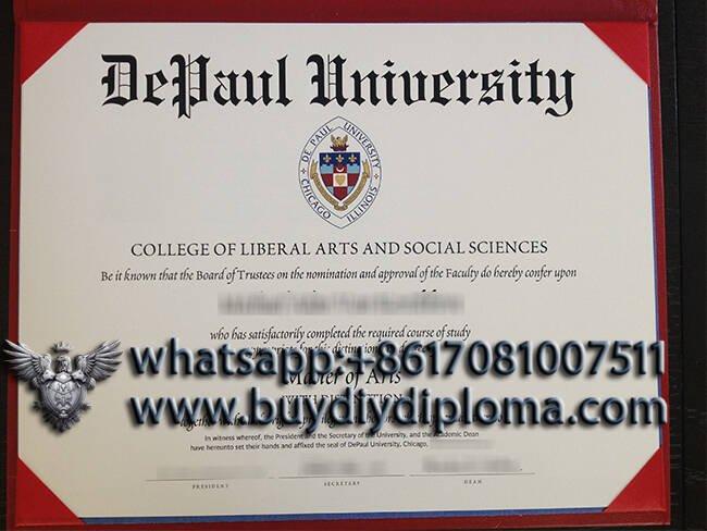 DePaul University fake diploma
