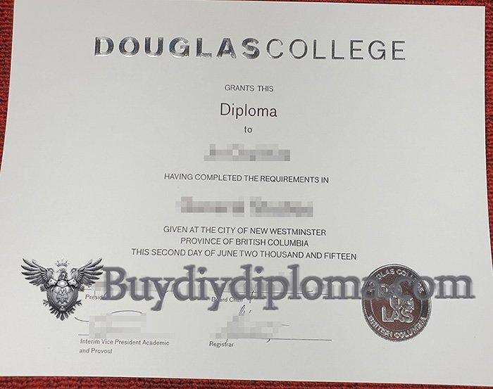 fake Douglas College diploma, buy Douglas College degree