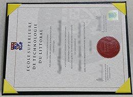 Ecole Supérieure De Technologie Du Littoral diploma