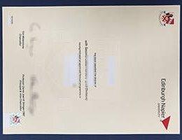 Edinburgh Napier UNIVERSITY fake diploma