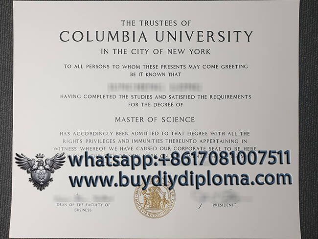 Buy A Fake Columbia University Diploma