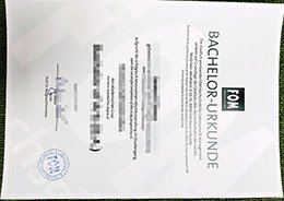 fake FOM University diploma, buy FOM University certificate,