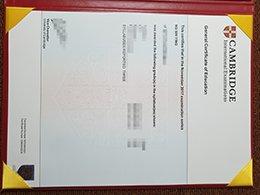 GCE certificate