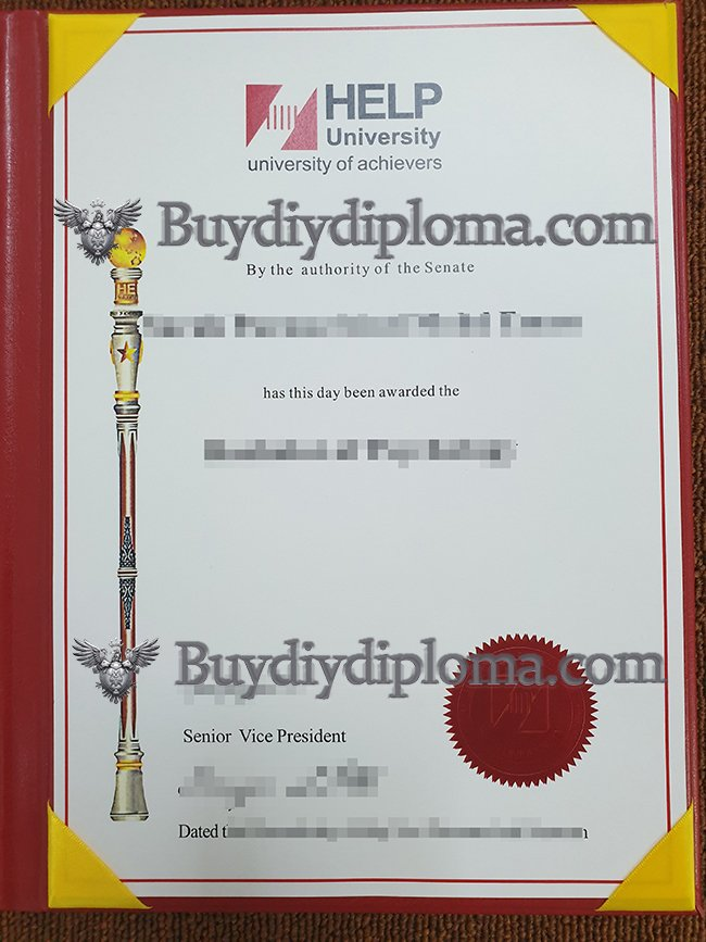 Which website to get a fake HELP University diploma in Malaysia