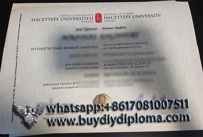 Hassettpe Üniversite Diploması