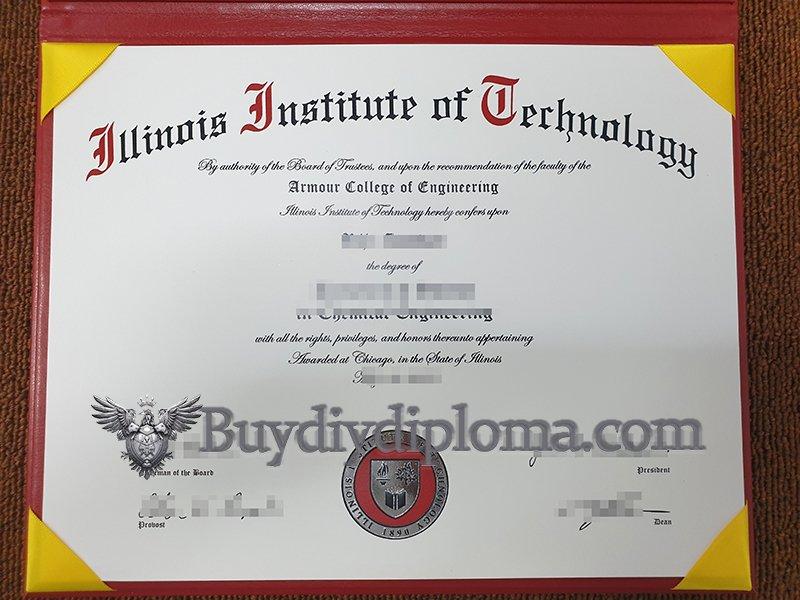 fake Illinois Institute of Technology diploma