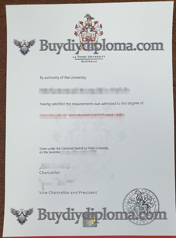 buy a fake La Trobe University diploma in Australia