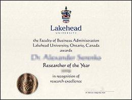 Lakehead university degree