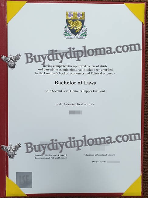 London School of Economics fake diploma