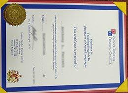 fake London Teacher Training College certificate, buy LTTC diploma, fake teacher certificate,