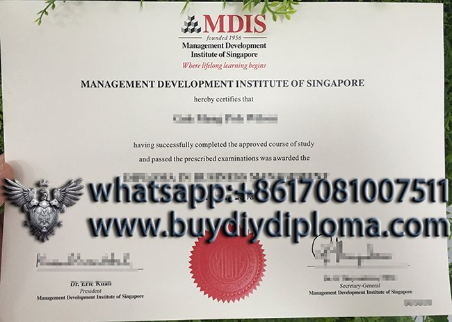 How to buy a fake MDIS diploma in Singapore
