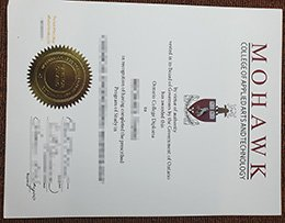 fake Mohawk College diploma, replica Mohawk College degree