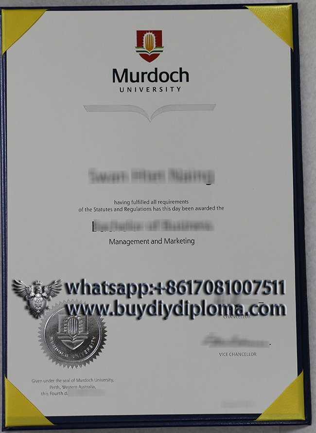 buy a fake Murdoch University degree in Australia