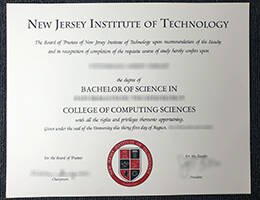 NEW ERSEY INSTITUTE OF TECHNOLOGY fake diploma