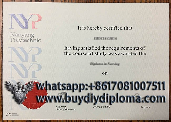 Buy fake NYP diploma, obtain Nanyang Polytechnic degree