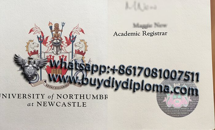 Northumbria-University-Diploma-Logo-and-hologram