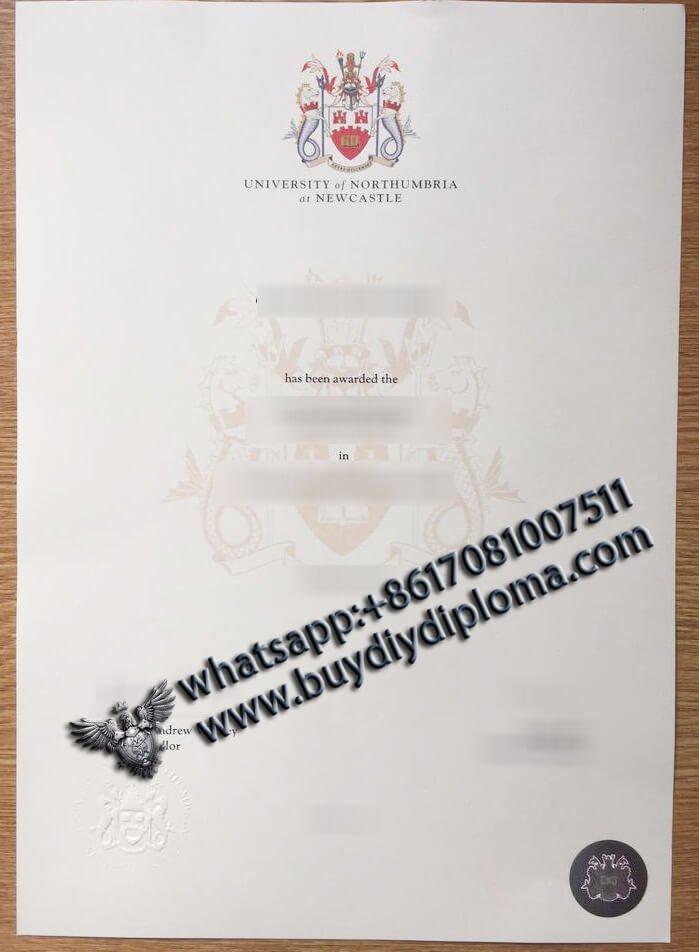Northumbria University Diploma