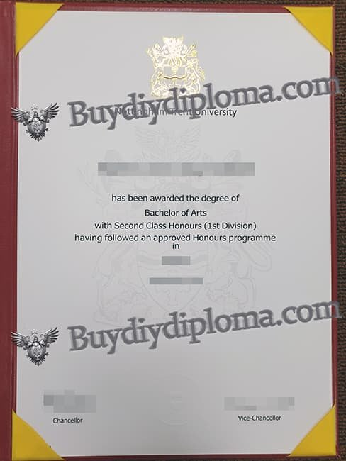 Nottingham Trent University fake diploma