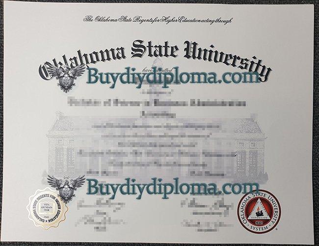 fake Oklahoma State University diploma, Oklahoma State University degree