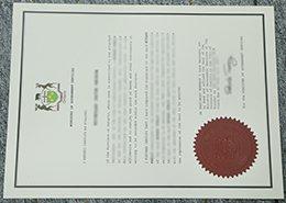 Ontario certificate