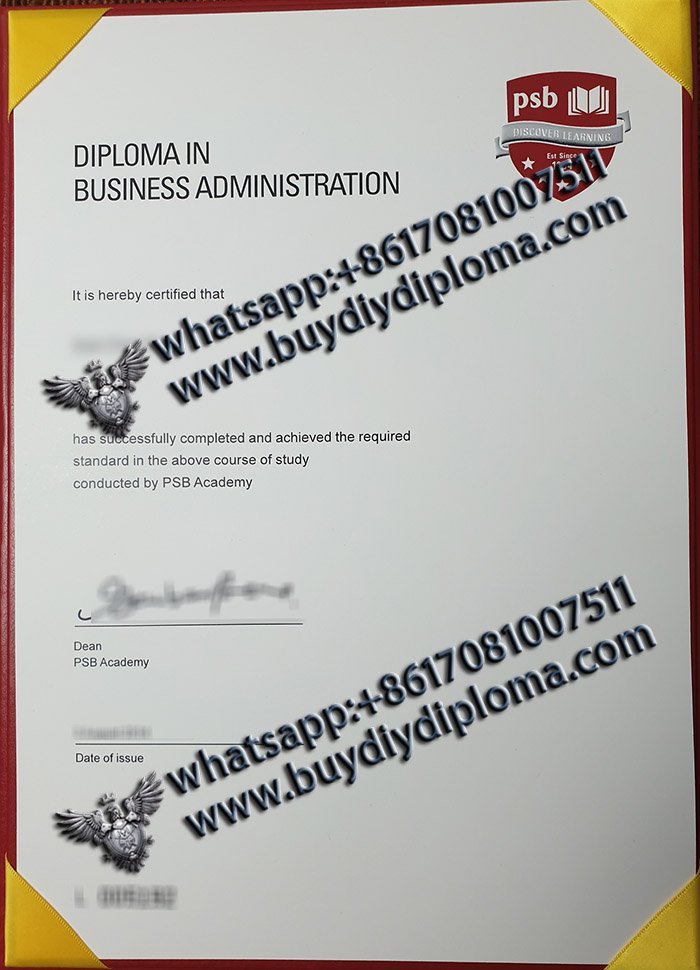 fake PSB Academy diploma, fake PSB Academy certificate, fake Singapore degree,