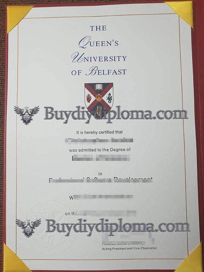 Queen's University Belfast degree
