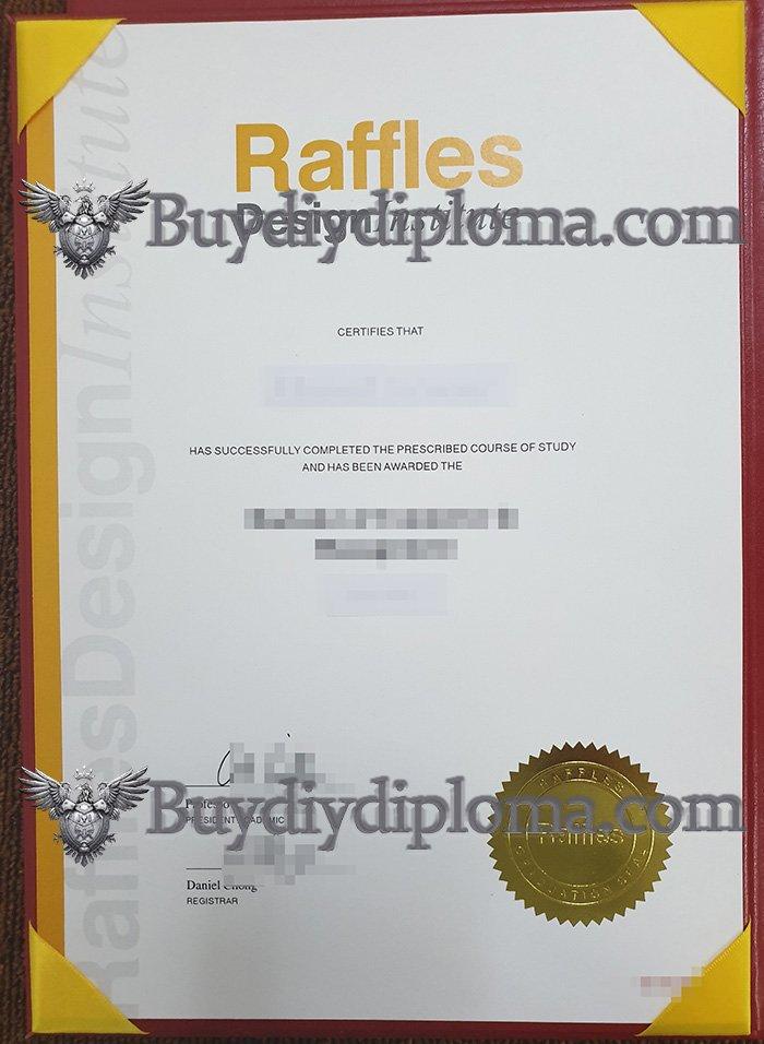 order a fake Raffles Design Institute diploma in Singapore