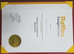 Raffles Design Institute diploma, fake Raffles Design Institute certificate
