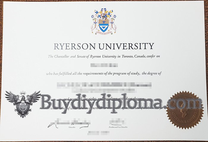 create a fake Ryerson University diploma, buy Canada diploma