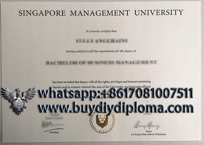 Fake SMU degree, Singapore Management University diploma