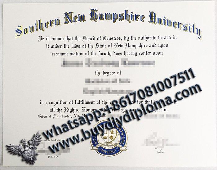 How to buy fake SNHU diploma, Buy fake diploma online