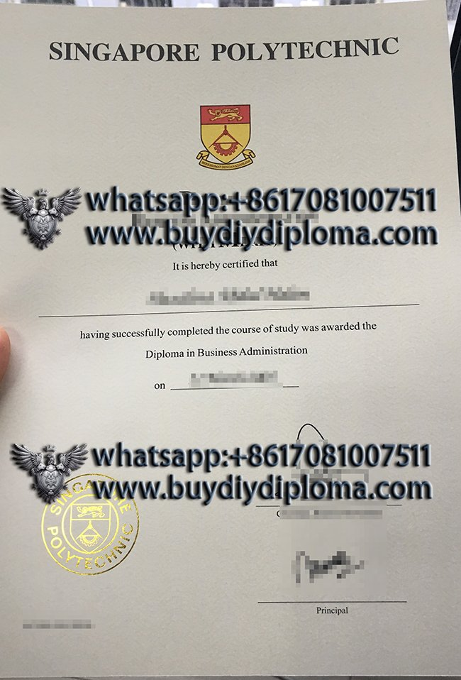 Singapore Polytechnic degree