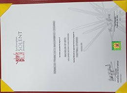 Southampton Solent University diploma, fake Solent University degree, buy fake degree,