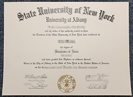 SUNY Albany degree