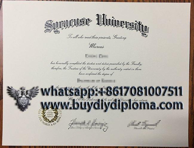 Where can I get a fake Syracuse University diploma form USA