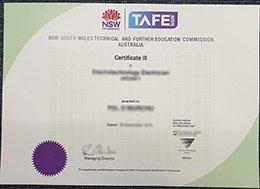 fake TAFE certificate, buy TAFE diploma, TAFE NSW certificate,