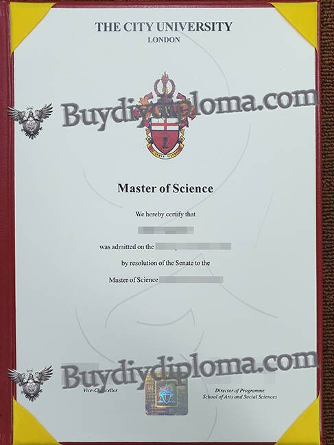 THE CITY UNIVERSITY LONDON fake diploma