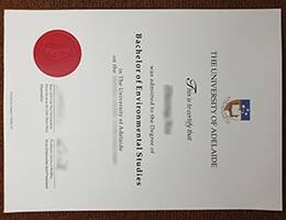 THE UNIVERSITY OF ADELAIDE fake diploma