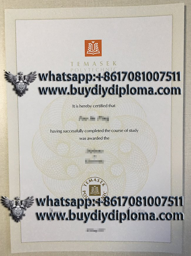 Why not to buy a fake Temasek Polytechnic diploma in Singapore