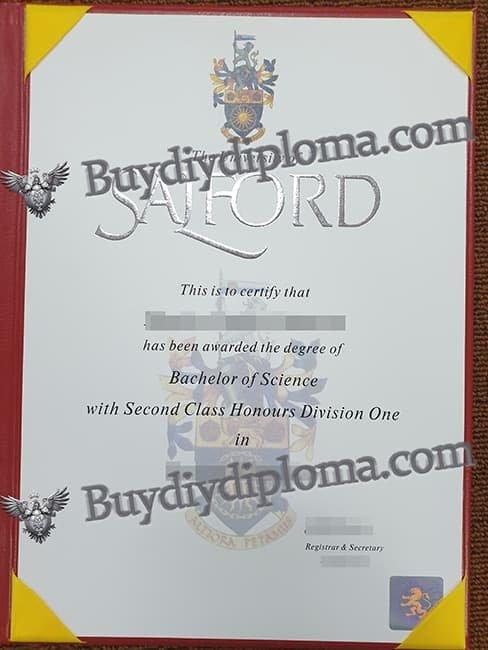 The University of the Salford fake diploma