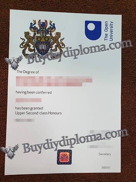 The open University fake diploma