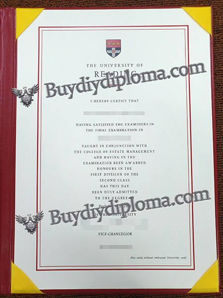 The university of reading fake diploma