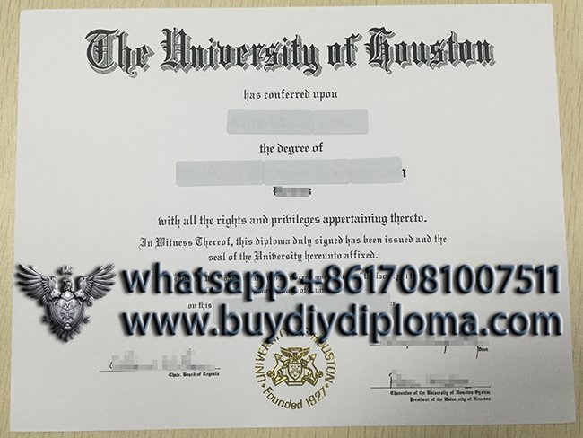 How can I get a fake University of Houston diploma online