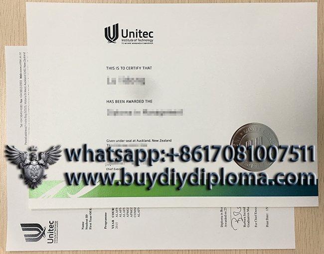 Unitec Institute of Technology diploma