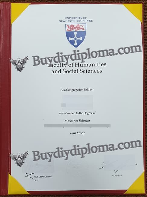 UNIVERSITY OFNEWCASTLE UPON TYNE fake diploma