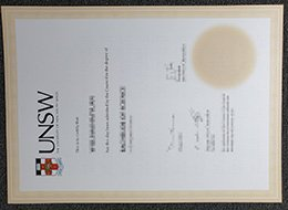 UNSW diploma