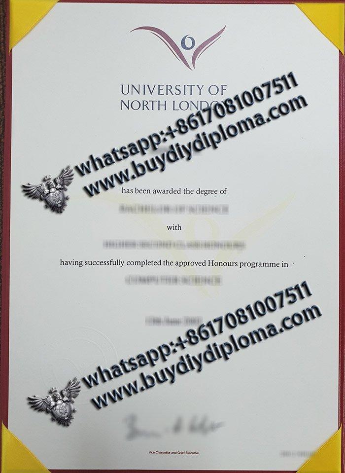 Tips to order fake University of North London diploma