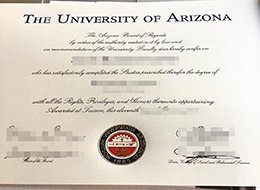 University of Arizona diploma