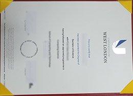 fake University of West London degree, University of West London diploma, fake UWL diploma,